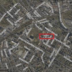 Odległość mieszkańców Starych Bronowic (ul. Skibińska) od lokalu wyborczego na Lotniczej
