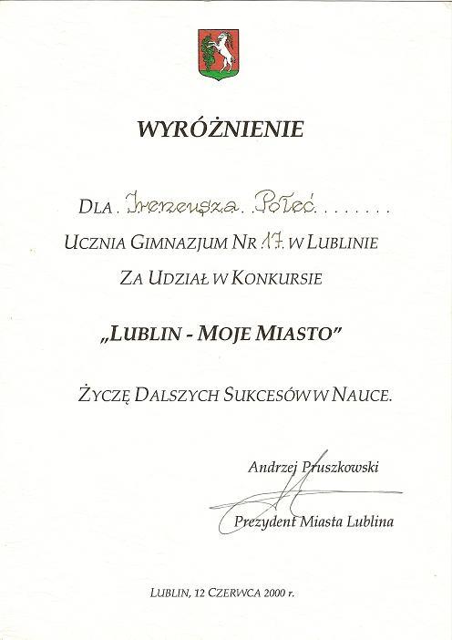 Lublin - Moje Miasto