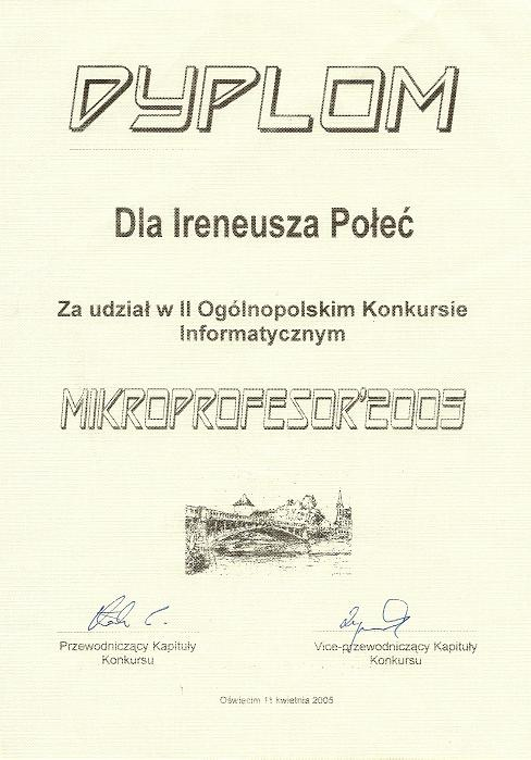 Mikroprofesor'2005