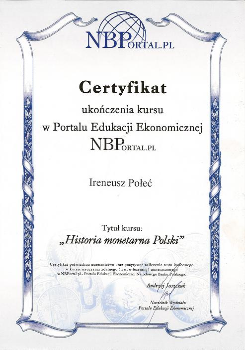 Historia Monetarna Polski
