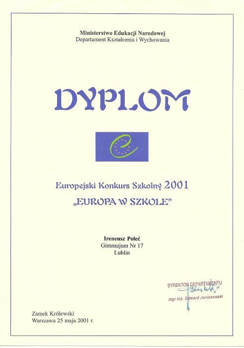 Europa w szkole
