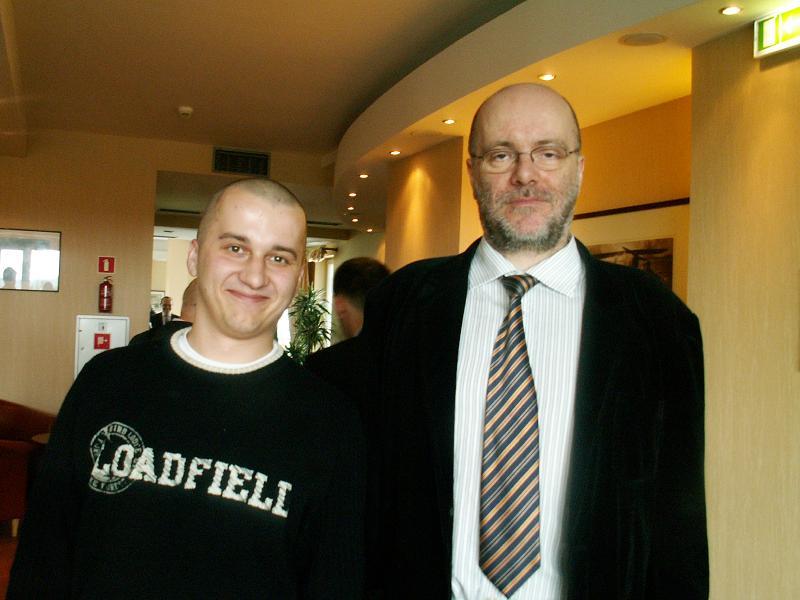 GigaCon 2009 Krzysztof Młynarski & Ireneusz Połeć