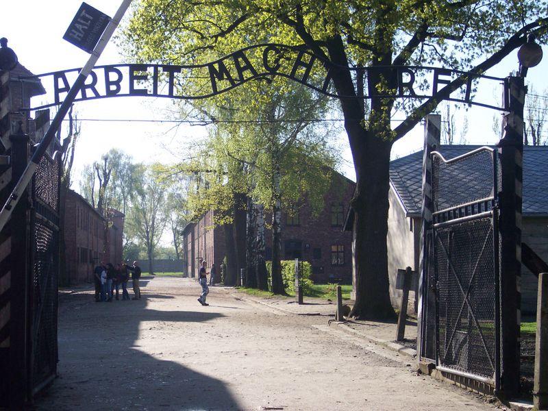 Arbeit Macht Frei - Auschwitz