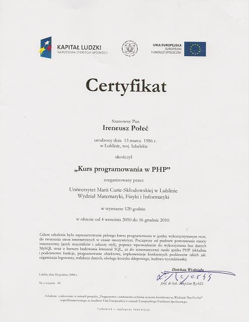 certyfikat_kurs_programowania_php