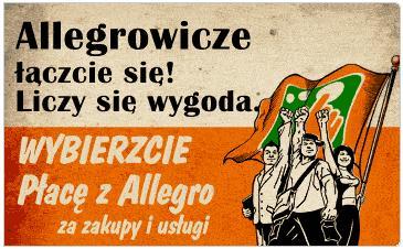 Nowe Płacę z Allegro