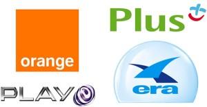 Operatorzy komórkowy Plus Era Play Orange