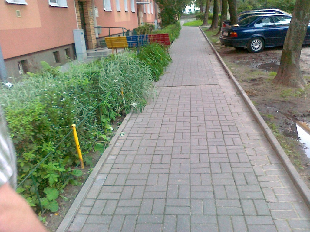 ul. Sokola w Lublinie (chodniki)