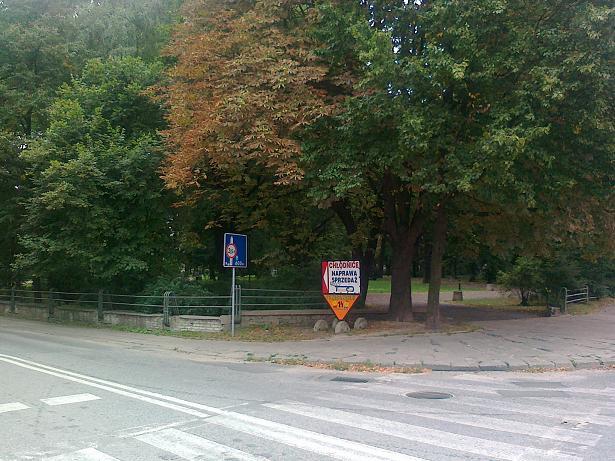 Znak ul. Bronowicka w Lublinie