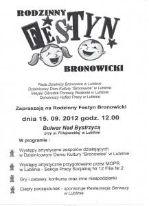 Rodzinny Festyn Bronowicki 2012