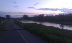 Wylanie rzeki Bystrzycy