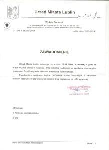 Zmiana nazwy ul. Firlejowskiej