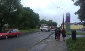 Remont ul. Łęczyńskiej - Nawierzchnia po zerwaniu stała się o wiele prostsza :)