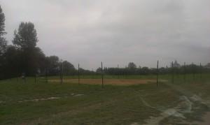 Ogrodzenie boiska do piłki siatkowej