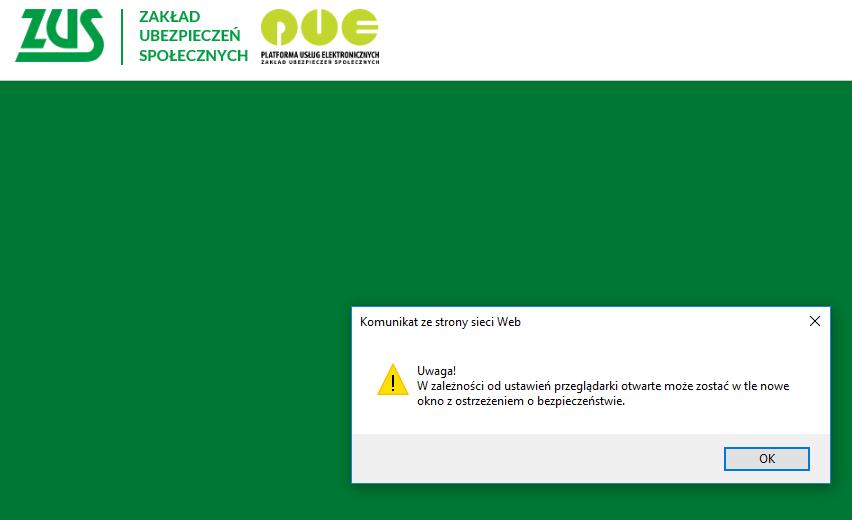 Zaświadczenie o niezaleganiu w ZUS - podpis elektroniczny / ePUAP