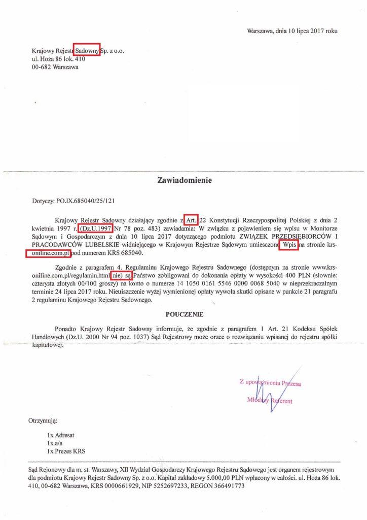 Krajowy Rejestr Sadowy