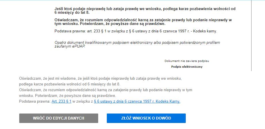 Wymiana dowodu osobistego online - ePuap lub podpis elektroniczny