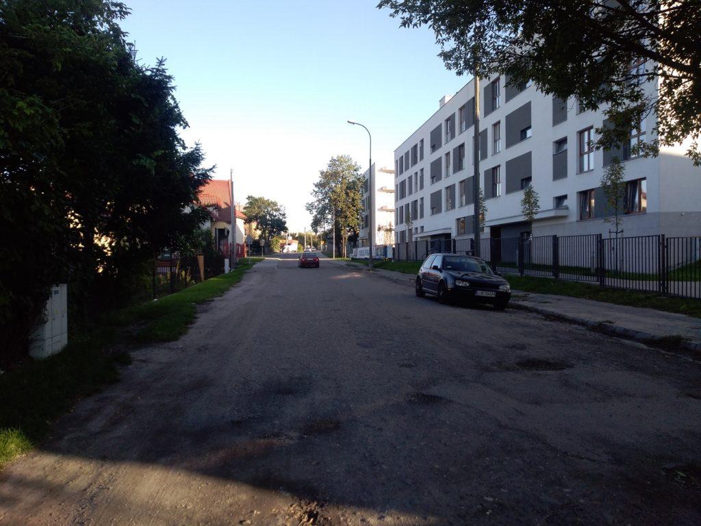 Budowa ul. Firlejowskiej