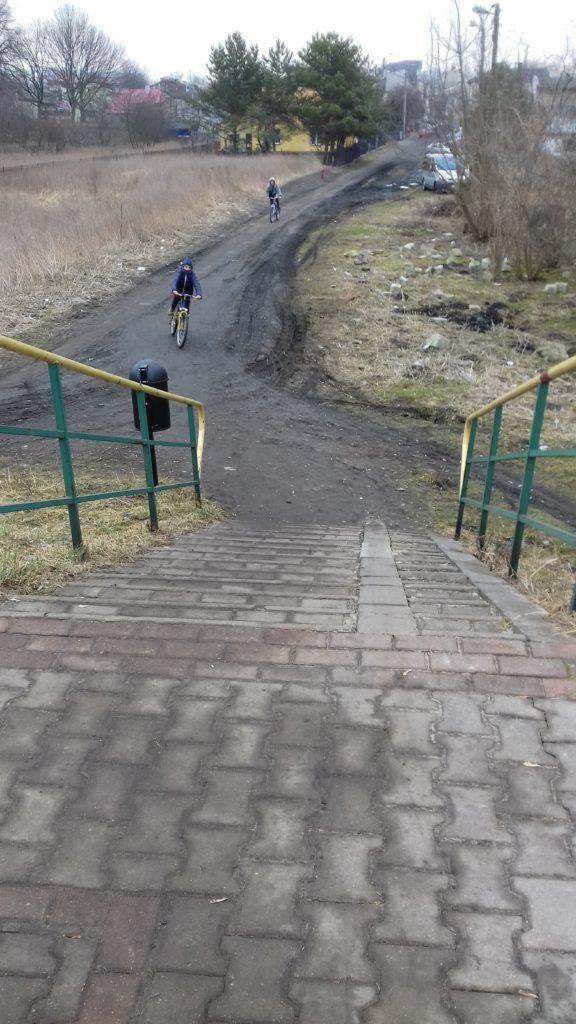 Remont dojazdu do kładki na ul. Bronowickiej w Lublinie