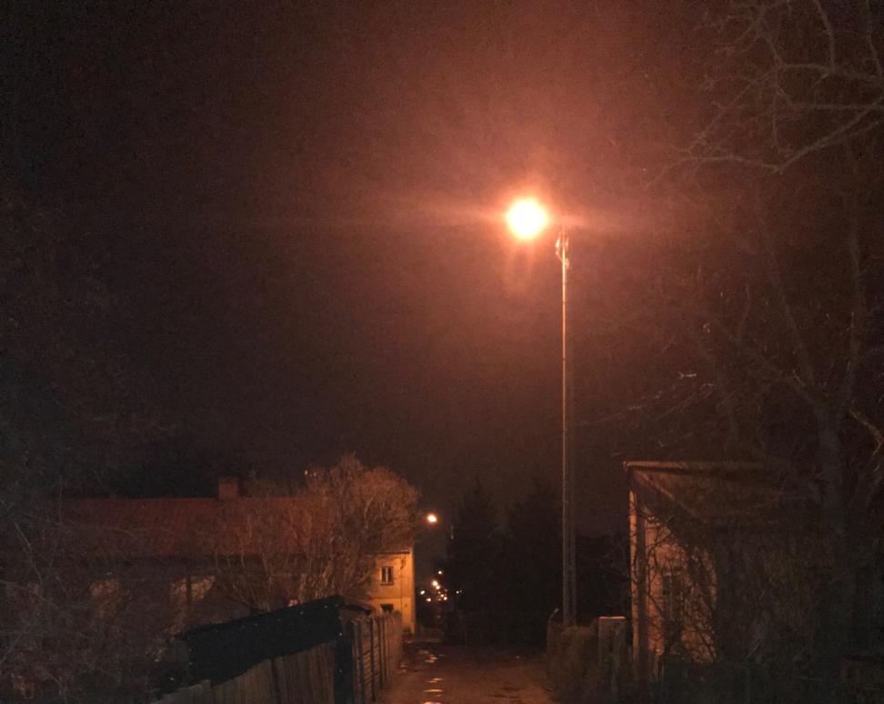 Oprawa oświetleniowa ul. Firlejowska